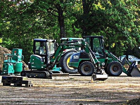 Excavator, Tractor, The Vehicle