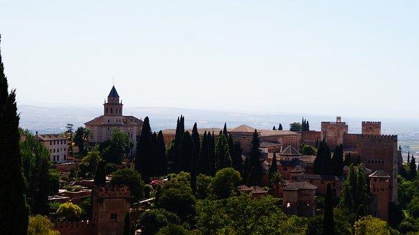 Spain, Granada, Andalusia, Palace, Architecture