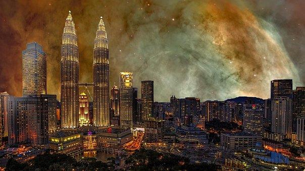 City, Big City, City Panorama, Panorama, Silhouette