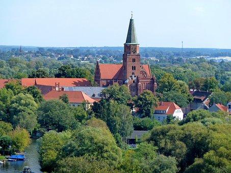 Dom, Brandenburg, Church, Germany, Steeple