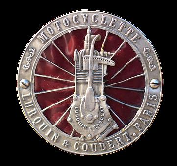 Emblem, Logo, Chrome, Two Wheeled Vehicle, Krad