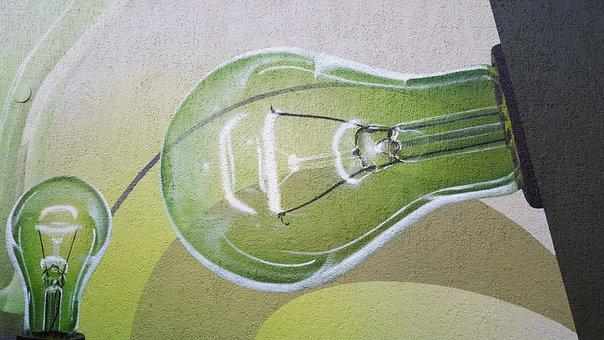 Energy Revolution, Light, Light Bulb, Green