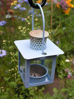 Lamp, Garden, Candle Holder