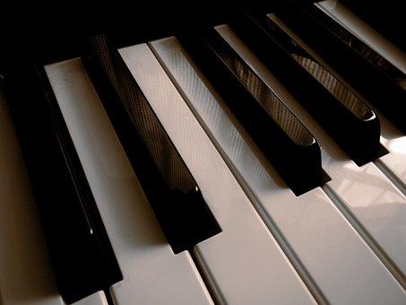 Keyboard, Piano Keys, Musical Notes, Instruments, Music
