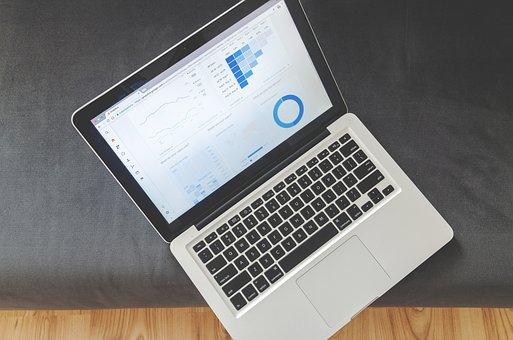 Office, Business, Notebook, Statistics, Technology