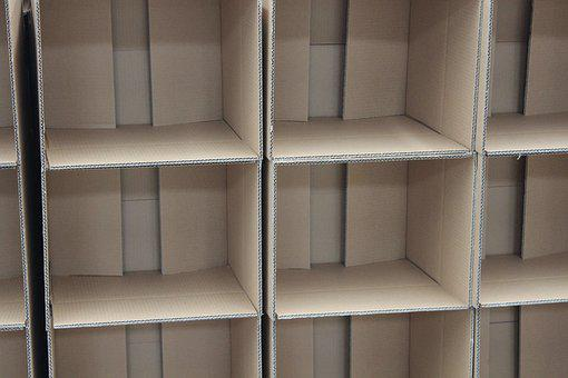 Boxes, Card, Flaps, Box, Packaging, Cardboard, Open