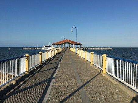 Australia, Redcliffe, Queensland, Water, Nature, Point