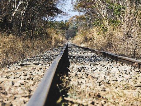Trail, Train, Railroad, Metropolitan, Wagons, Rail