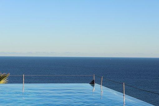 Infinity, Pool, Sky, Sea, Water, Luxury, Summer, Hotel