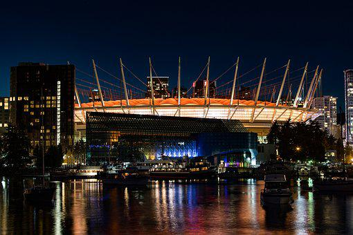 Canada, Vancouver, Harbour, British, Columbia, City