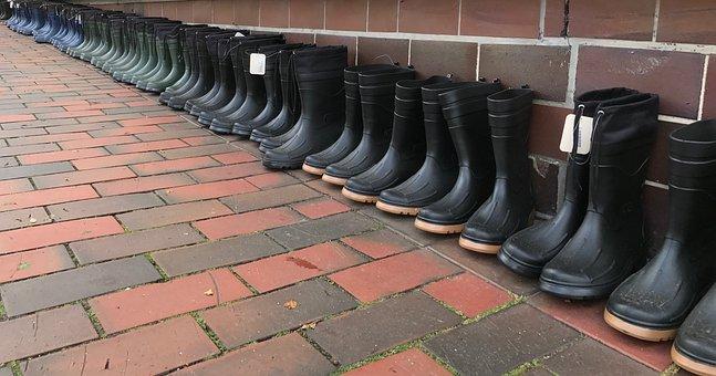 Rubber Boots, Shoes, Boots, Autumn