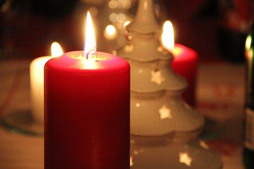 Light, Christmas Lights, Red, Table