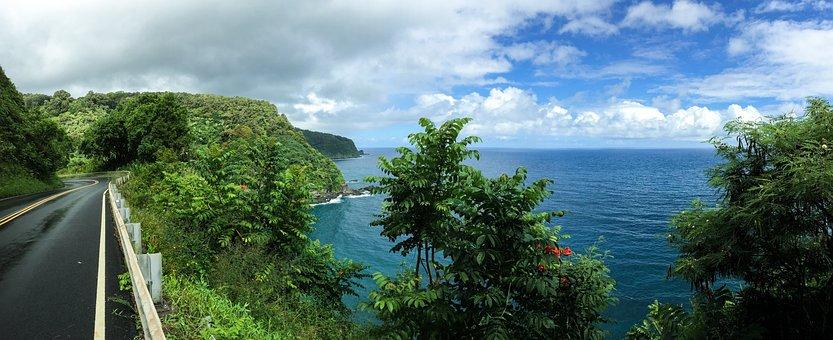 Hawaii, Hana, Road