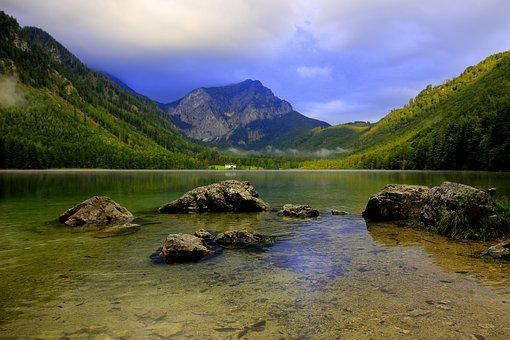 Mountains, Water, Lake, Water Spieglung, Landscape