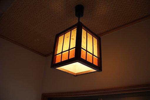 Japanese Style, Lighting, Inn, Light