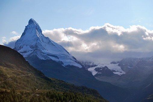 Mountain, Matterhorn, Switzerland, Nature