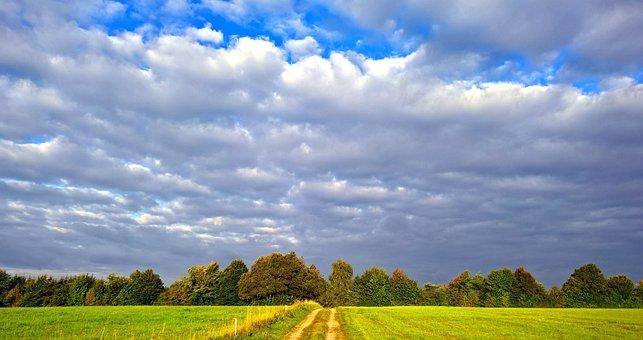 Threatening, Rain Clouds, Mood, Nature