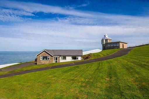 Lighthouse, Ocean, Building, Coast, England