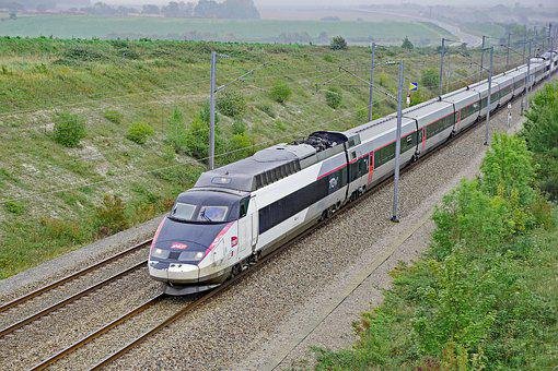 Tgv, France, Railway, Fast Traffic, Remote Traffic