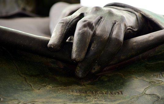 Hand, Bronze, Art, Sculpture, Finger, Figure, Artwork