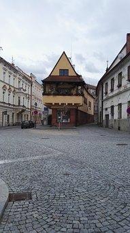 House, Paving, History, Stone Cubes, South Bohemia