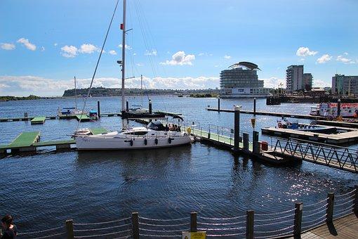 Boat, Harbour, Sea, Water, Port, Travel, Sky, Ship, Bay