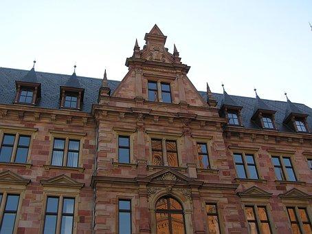 Χαίδελβέργη, Palace, Middle Ages