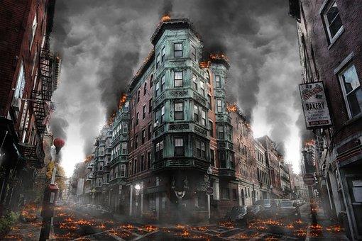 War, Destruction, Armageddon, Disaster, Apocalyptic