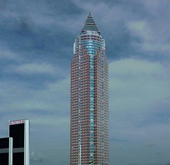 Skyscraper, Window, Frankfurt, Building, Facade