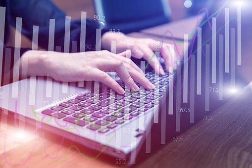 Hand, Type, Keyboard, Money, Finance, Business, Table