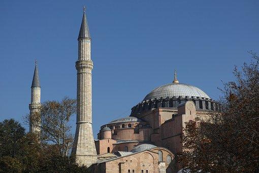 Cami, Hagia Sophia, Travel, Peace, Turkey, Sultanahmet