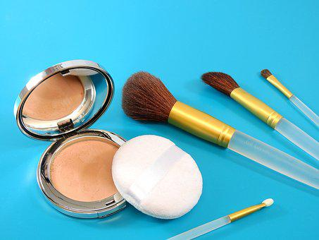Powder, Brush, Schmink Brush, Cosmetics, Makeup, Beauty