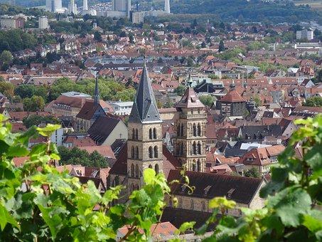 Esslingen, City Church, St Dionys, Steeple