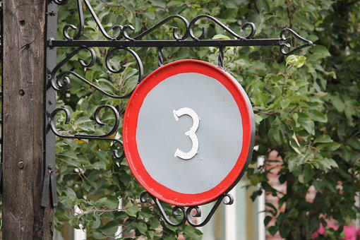 House Number, Rustic, Old, Farmhouse, Flower Box