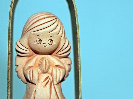 Angel, Guardian Angel, Pray, Luck, Figure, Prayer