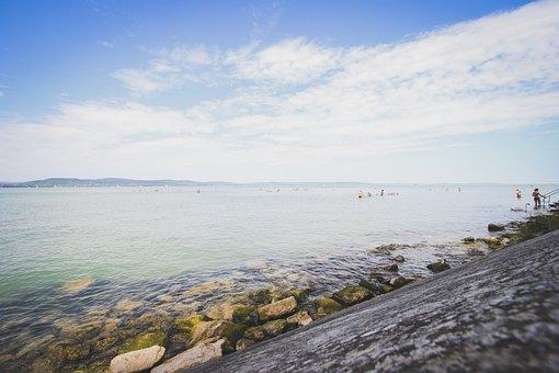 Lake Balaton, Summer, Beach, Water, Hungary, Lake, Mood