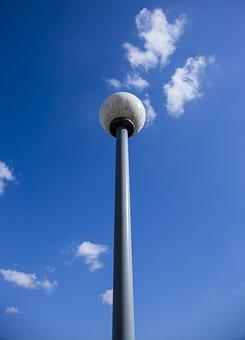 Lamp, Street, Light, Design, Sky, Architecture, Modern