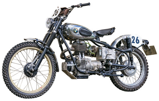 Bmw, Krad, Motorcycle, Old, Two Wheeled Vehicle