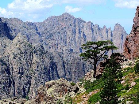 Mountains, Alps, Landscape, Nature, Clouds, Sky, Heaven