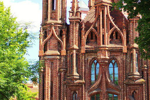 Lithuania, Church, Sightseeing, Places Of Interest