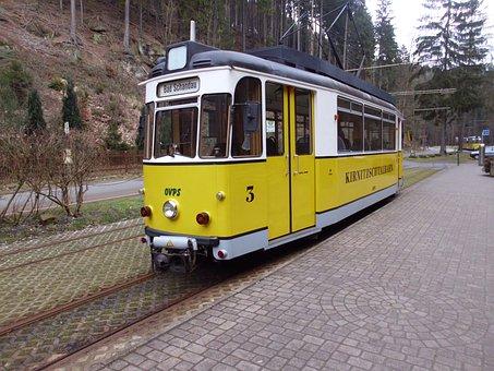 Kirnitzschtalbahn, Bad Schandau, Saxon Switzerland
