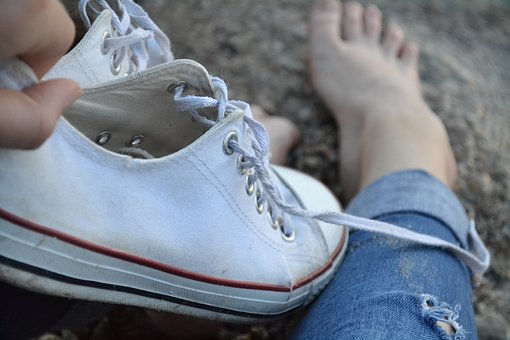 Boots, Sneakers, Foot, Shoes, White, Jeans