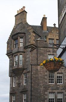 Edinburgh, Shopping, City, Capital, Travel, Stone