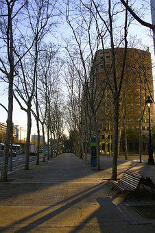 Street, Spain, Barcelona, Europe, Architecture, Travel