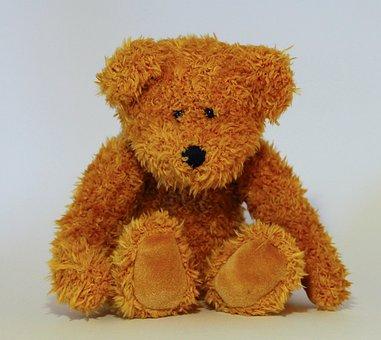 Bear, Teddy Bear, Toys, Brown Bear