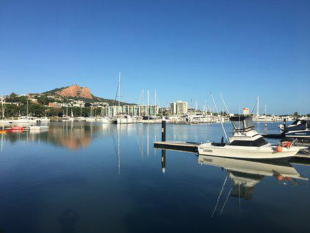Townsville, Australia, Queensland, Sea, Tourism, Travel