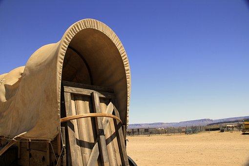 Nevada, Usa, Cowboy, America, California, Mountain