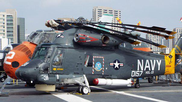 Navy, Helicopter, War, Military, Force, Transport