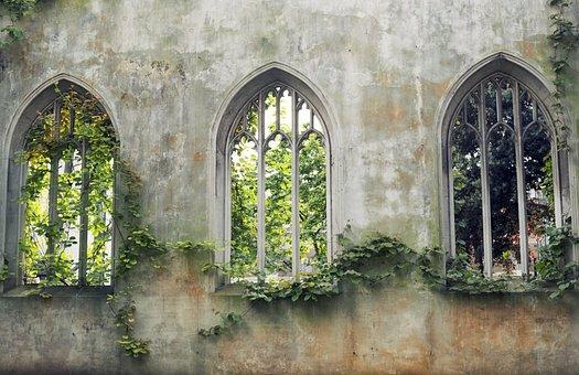 English, Garden, Windows, Nature, Spring, Flower