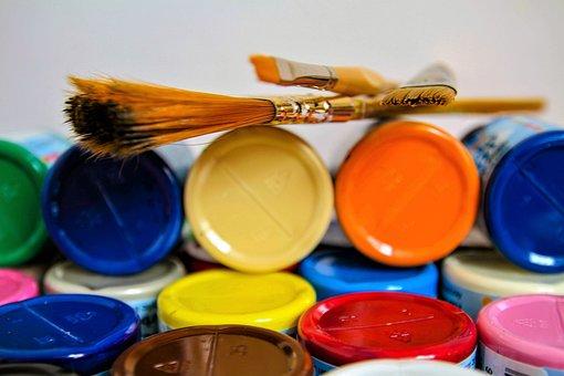 Brushes, Brush, Paintbrush, Paint, Artistic, Painting